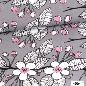 Bio-Jersey Paapii Apple Garden grey