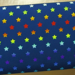 Jersey Colored Stars dunkelblau