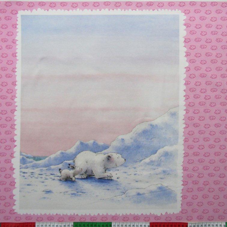 Kleine Panel Jersey Eisbär Der Rosa Lars rWxBedoC