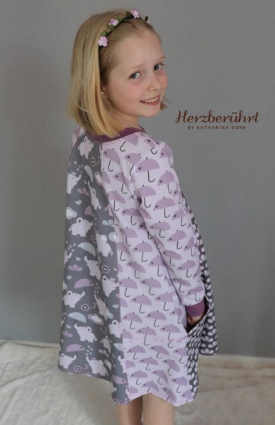 Sommersweat Flowerphant Umbrella rosa by Petra Laitner